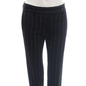 MISSONI BROWN WOOL PANTS WITH STITCHED DETAILING 6